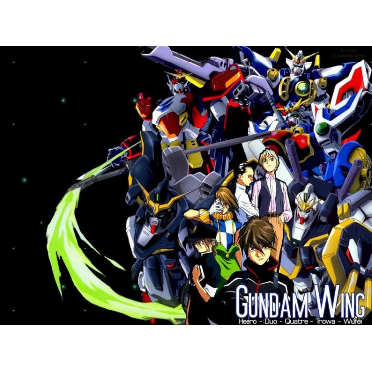 Gundam Wing Completo + Ova